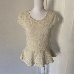 Vince Camuto Lace top